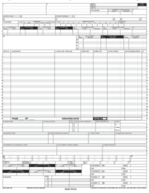 Ub 92 Form - Fill Online, Printable, Fillable, Blank | PDFfiller