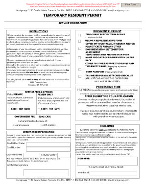 Fillable Online Imm 5257 fillable form 2012 Fax Email Print ...