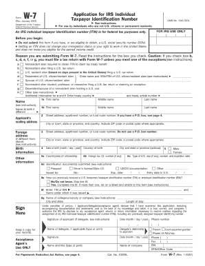 Filled W 7 Form - Fill Online, Printable, Fillable, Blank   PDFfiller