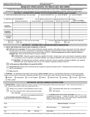 Sf 180 Form Online - Fill Online, Printable, Fillable, Blank ...