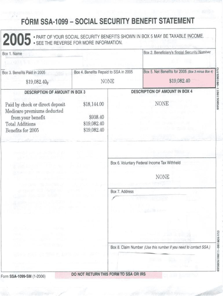 Printable Blank Ssa 11 Form - Fill Online, Printable ...