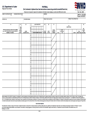 Certified Payroll Forms - Fill Online, Printable, Fillable, Blank ...