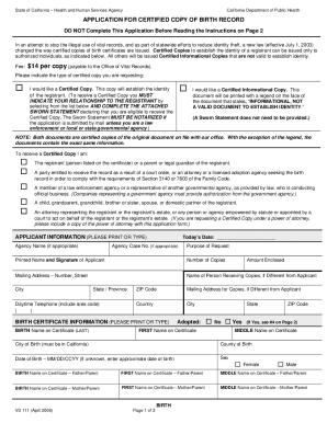 vs 23 form Ca Form Vs24 - Fill Online, Printable, Fillable, Blank | PDFfiller