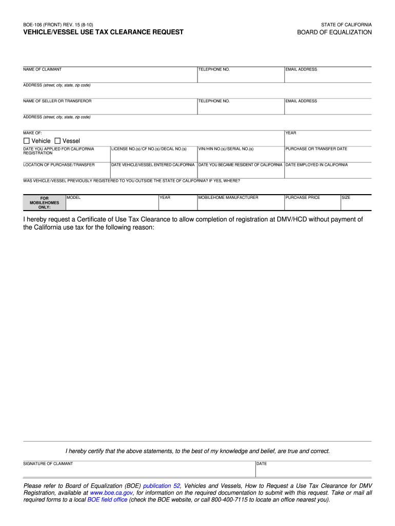 Ca 111form - Fill Online, Printable, Fillable, Blank   PDFfiller