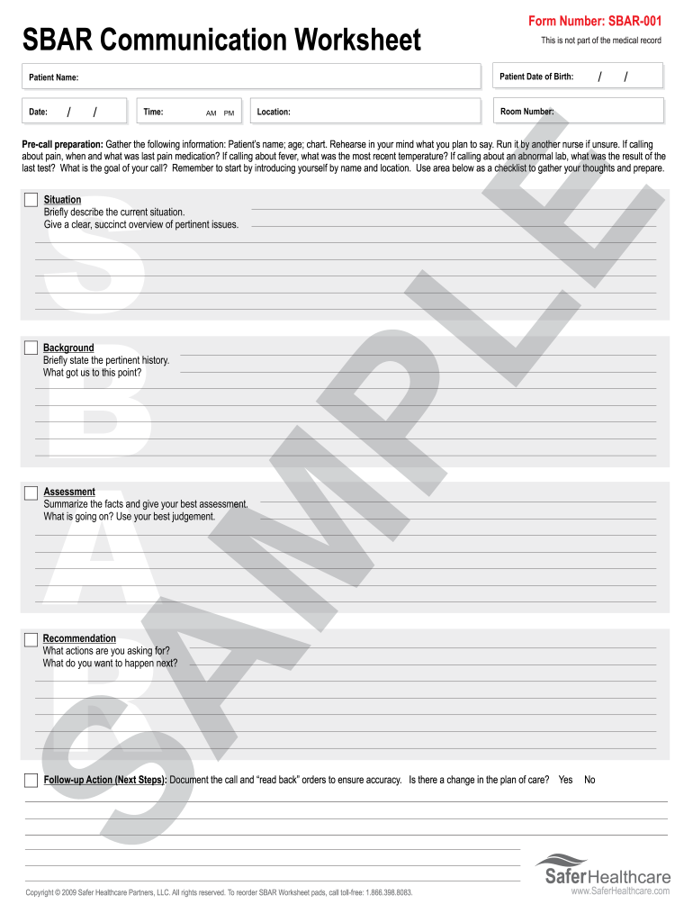 photo regarding Printable Sbar Template referred to as Case in point Of Crammed Sbar Type - Fill On line, Printable