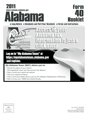 Fillable Alabama Tax Forms - Fill Online, Printable, Fillable ...