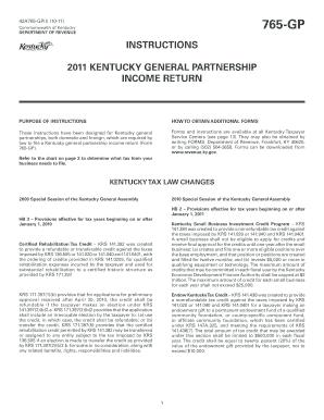 Ky Form 765 - Fill Online, Printable, Fillable, Blank | PDFfiller