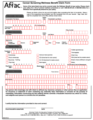 Unusual image regarding aflac printable claim forms