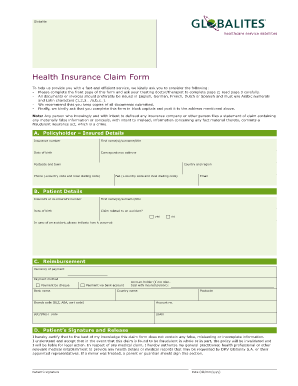 Insurance Claim Ipcc Notes