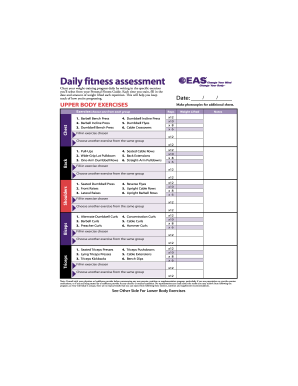 photograph relating to Printable Dumbbell Exercises Pdf named 26 Printable Health and fitness Chart Pdf Kinds and Templates