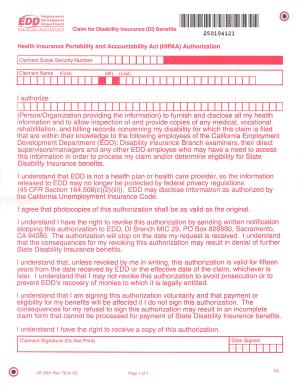 de 2525xx edd disability form de 2501 - Klise.thegreaterchurch.co