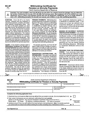 Nc 4 Allowance Worksheet 018 - Nc 4 Allowance Worksheet
