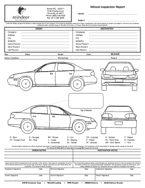 Used Car Inspection Checklist Pdf - Fill Online, Printable ...