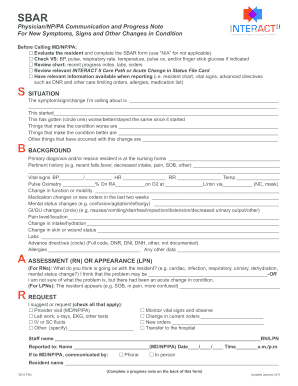 image about Sbar Printable Forms named Have interaction Sbar - Fill On-line, Printable, Fillable, Blank