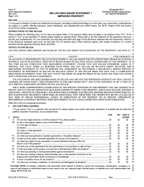 2012 Form Disclosure - Fill Online, Printable, Fillable, Blank ...