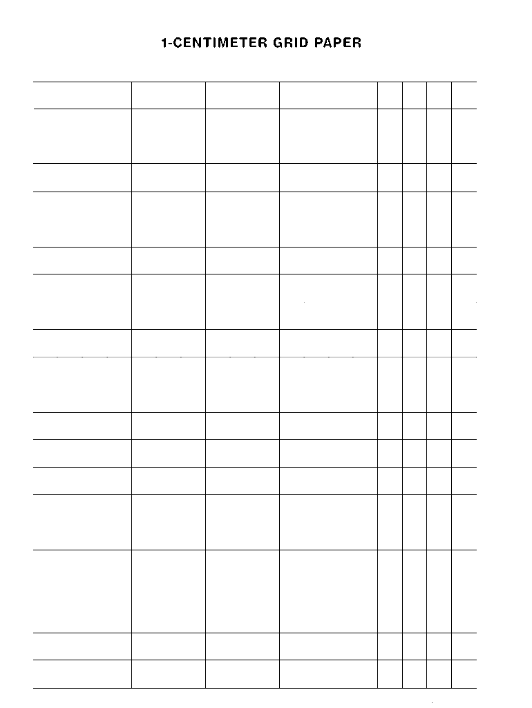 graphic about Printable Centimeter Grid Paper identify On the internet Centimeter Grid Fillable - Fill On the internet, Printable