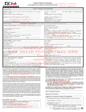 10 Printable Standard Lease Agreement Texas Forms And