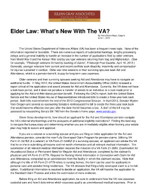 Fillable Online VA Form 21-22, Appointment of Veterans Service ...