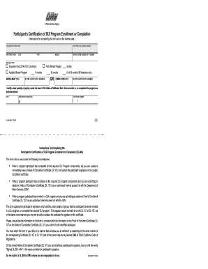 Notice Of Completion Certificate Dl 101 - Fill Online, Printable ...