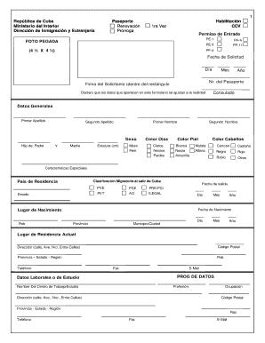 Cuba Pe 11 Form - Fill Online, Printable, Fillable, Blank | PDFfiller