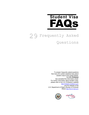 embassy questions for student visa form