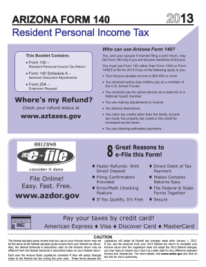 az form 140 edit