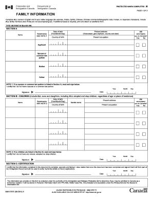 Imm5707 - Fill Online, Printable, Fillable, Blank   PDFfiller