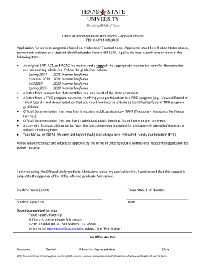 citizenship application fee waiver Forms and Templates - Fillable ...