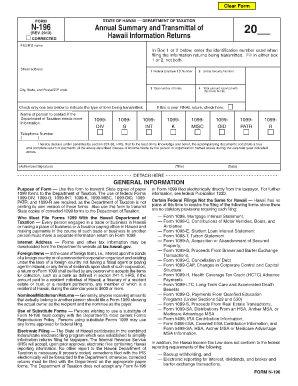 1099 form hawaii  State Of Hawaii N 9 - Fill Online, Printable, Fillable ...
