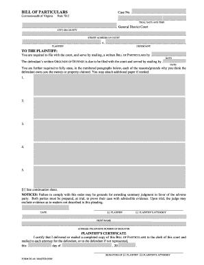 Virginia form bill of fill online printable fillable blank virginia form bill of thecheapjerseys Images