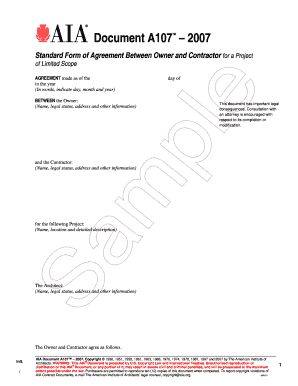 17 Printable Standard Form Of Agreement Between Contractor And