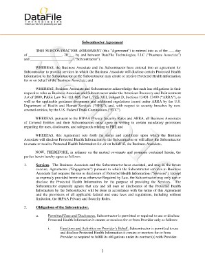 Subcontractor agreement forms and templates fillable printable subcontractor agreement this subcontractor agreement platinumwayz