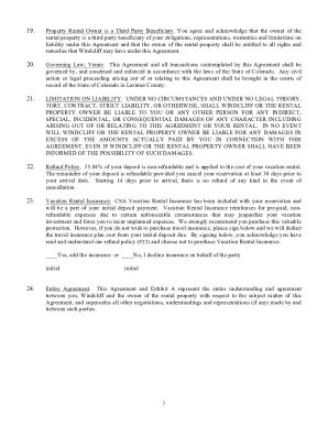 24 Printable Vacation Rental Lease Agreement Forms And