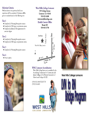 LVN-ADN Bridge Program Brochure - West Hills College