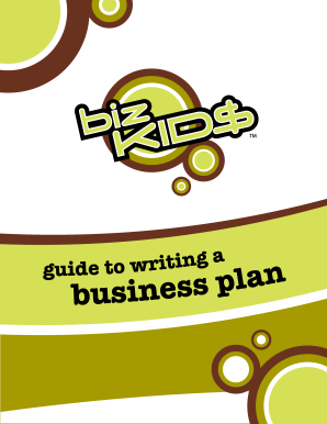 Business Plan - Biz Kids