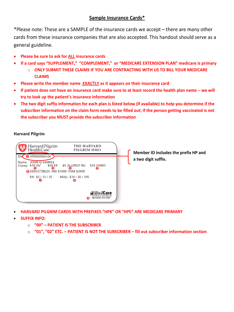 It's just a graphic of Printable Fake Insurance Card for driver insurance