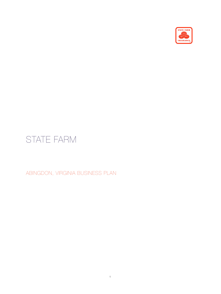 state farm business plan template fill online printable. Black Bedroom Furniture Sets. Home Design Ideas