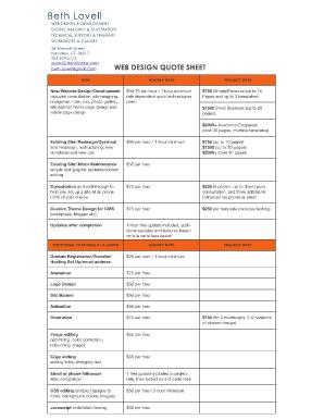 Submit wordpress website proposal pdf Online in PDF | quote