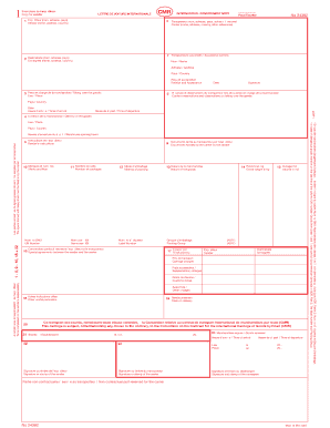 Model Cmr Pdf - Fill Online, Printable, Fillable, Blank | PDFfiller