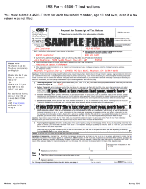 How To Fill Out Form 4506 T - Fill Online, Printable, Fillable ...