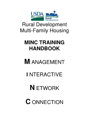 Fillable online usdaminc sc egov usda rural development multi family housing minc usda - Usda rural housing development ideas ...