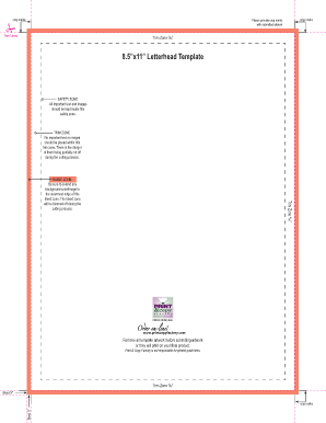 8.5 x11 Letterhead Template - Print & Copy Factory