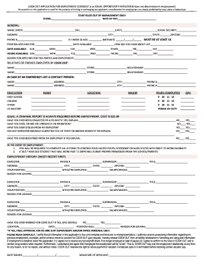 Fill out and print resume for free