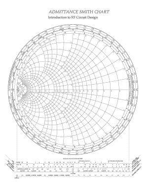 image regarding Printable Smith Chart identify 22 Printable Smith Chart Styles and Templates - Fillable