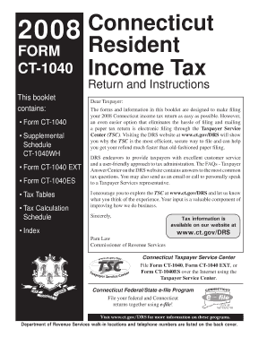 form 1040 filing instructions