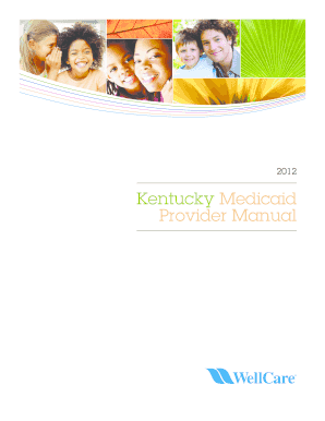 Ky Medicaid Billing Manual