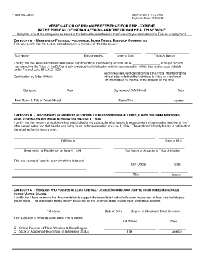 Bia Form 4432 - Fill Online, Printable, Fillable, Blank | PDFfiller