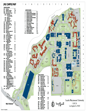 Fillable Online LMU CAMPUS MAP Fax Email Print   PDFfiller