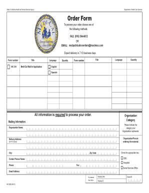 medi cal eligibility forms Templates - Fillable & Printable ...