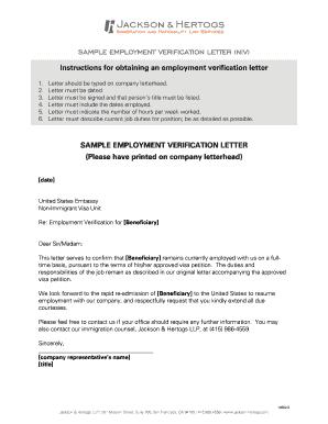 sample employment verification letter niv jackson hertogs